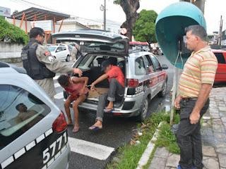 Casal é detido após ser flagrado fazendo sexo em local público na Paraíba