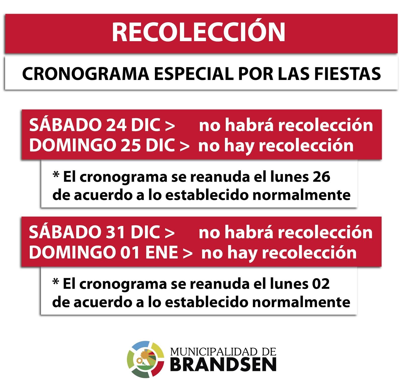 RECOLECCIÓN DE RESIDUOS EN LAS FIESTAS | DIRECCIÓN DE PRENSA ...