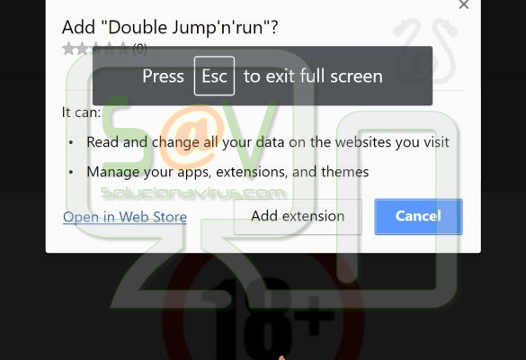 Jump'n'run (Extensiones forzosas de Chrome)
