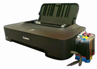 Mengatasi tinta macet dan hasil bergaris pada printer Canon IP 2770