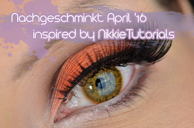 Nachgeschminkt Projekt Minions Yellow Cut Crease Makeup