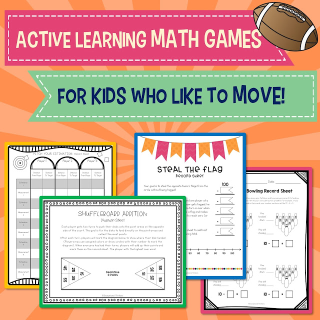 No more boring worksheets of the past. Find out how to spice things up with hands-on multisensory math games and activities for active learning!