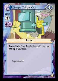 My Little Pony Scope Things Out Equestrian Odysseys CCG Card