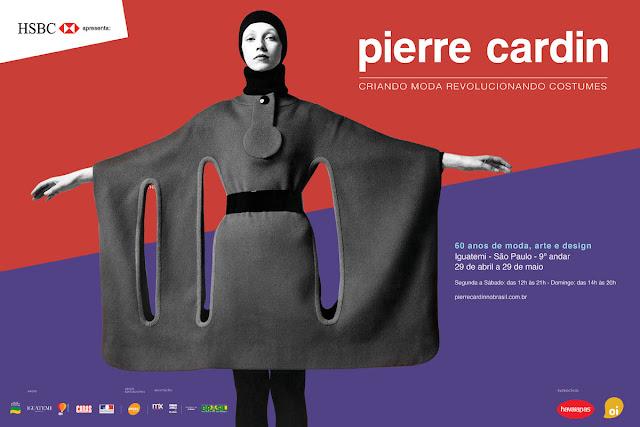 "Portfólio Heloisa Gullo: Projeto ""Pierre Cardin, Criando Moda  Revolucionando Costumes"""