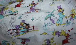 Around the World with Willy Fog bed sheet