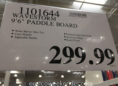 Deal for the Wavestorm Expedition Stand-Up PaddleBoard at Costco