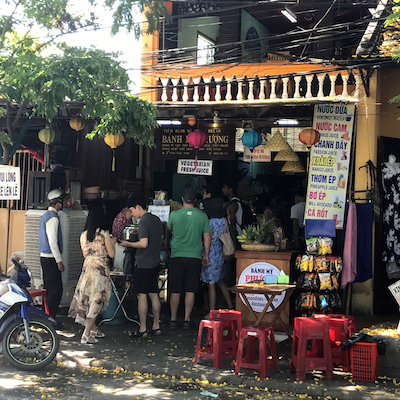 Places To Eat in Hoi An Vietnam Banh mi Phuong