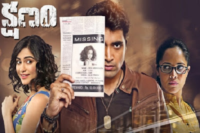 Kshanam (2016) Watch full hindi dubbed movie online