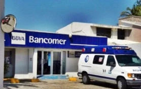 Asaltan Bancomer en colonia Petrolera de Coatzacoalcos Veracruz