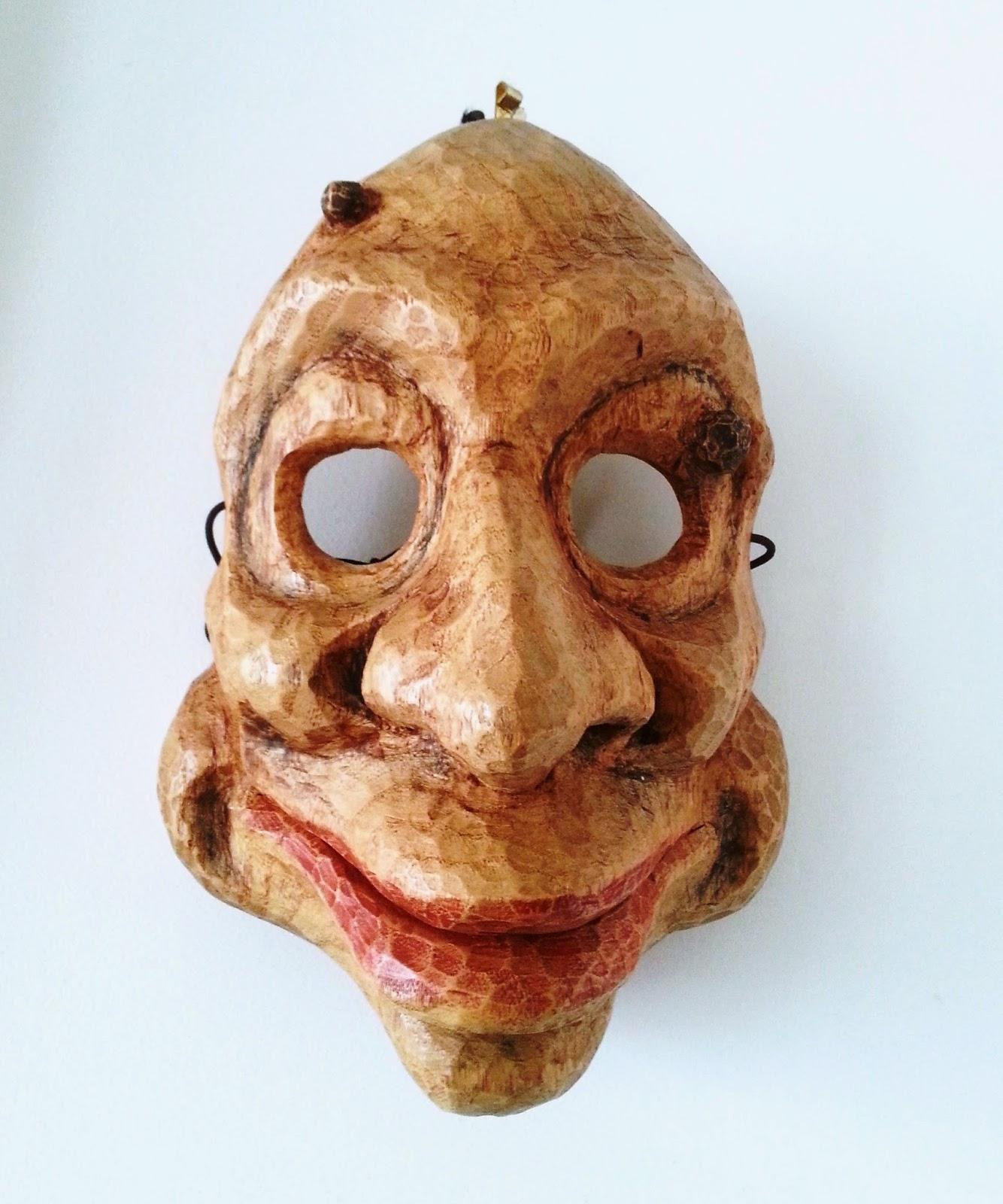 design exquis nouvelle version les clients d'abord Alaric Chagnard - sculpteur de masques: Masque Ubu Roi
