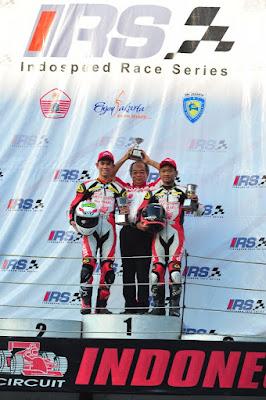 Gerry dan Rheza sukses rebut Podium IRS Seri 3 Race 1