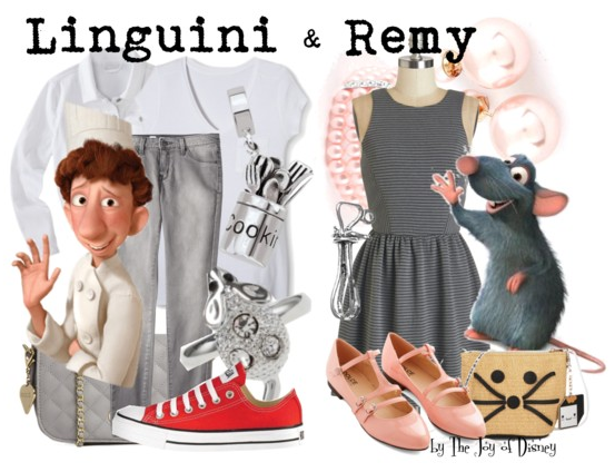 Linguini and Remy, Ratatouille, Disney Fashion