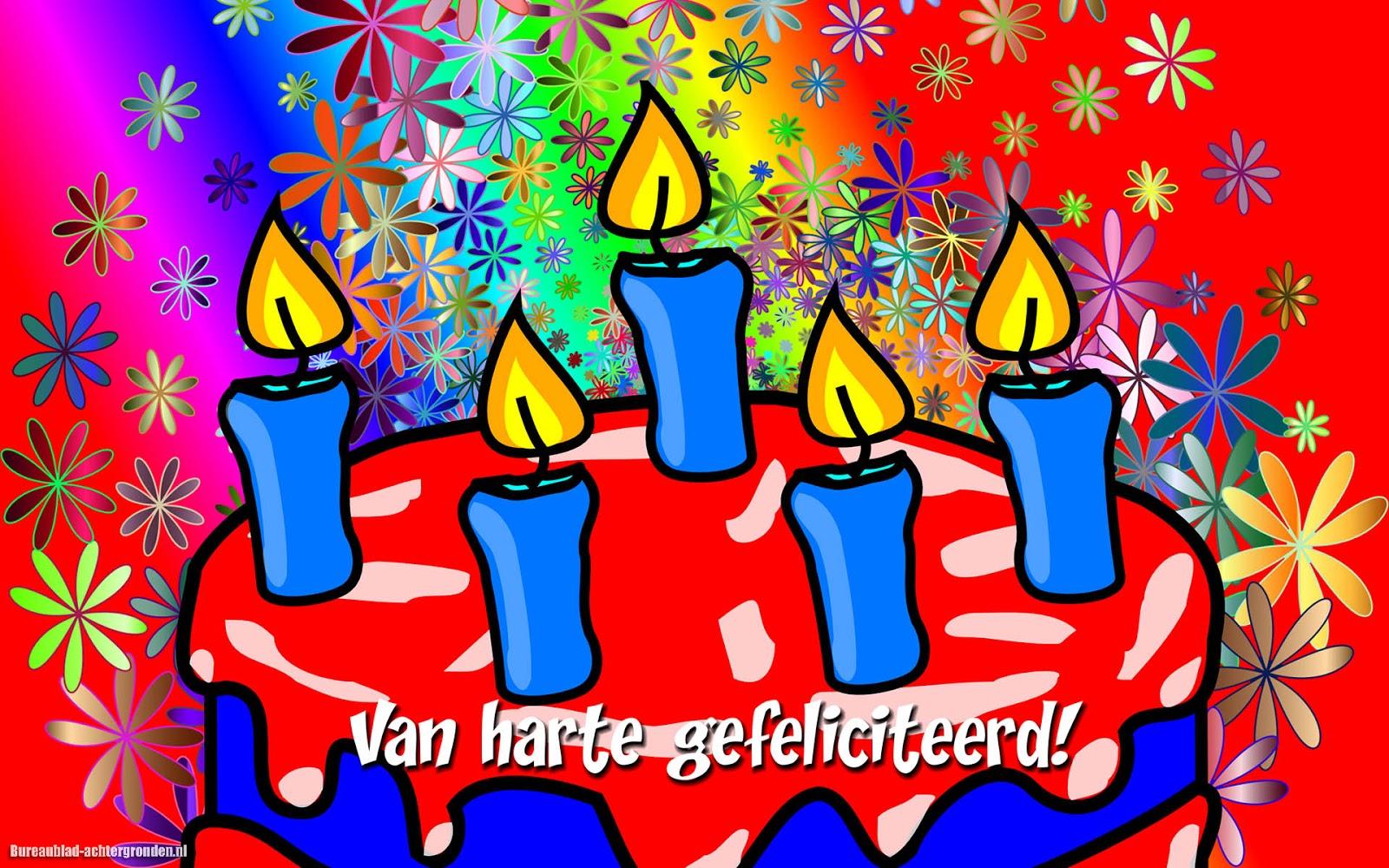 Verjaardagsteksten zoals van harte gefeliciteerd met