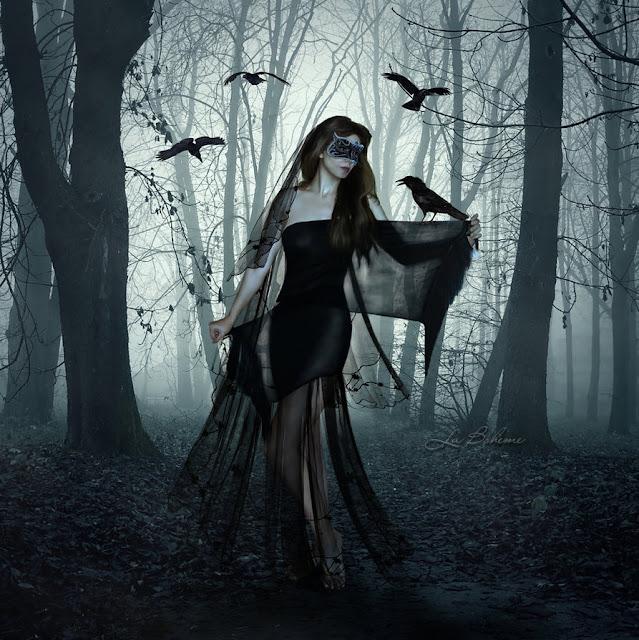 mystic blood dark art by la boh232me