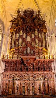 Órgano de la Catedral de Sevilla (no se conserva ninguna image de Manuel Blasco de Nebra).