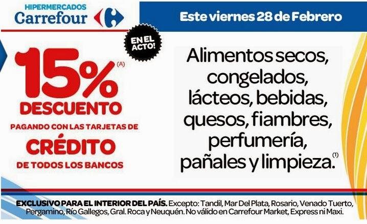 Ofertas y promos Carrefour interior del país ad74dcb7e767