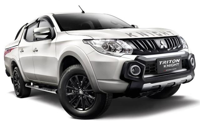 Mitsubishi Triton Knight Edition Dijual Hanya 120 Unit Di Malaysia