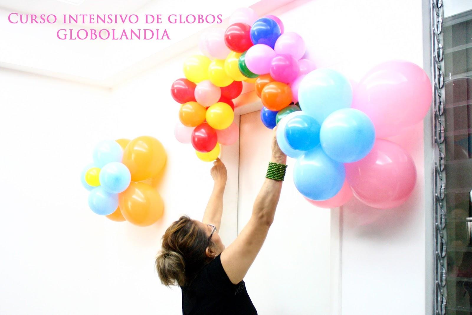 Globolandia arte en el aire curso intensivo de - Curso decoracion con globos ...