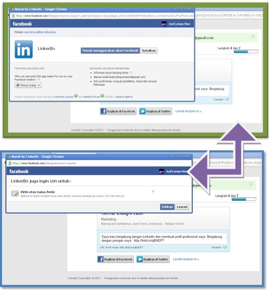 ara Membuat Acount di LinkedIn