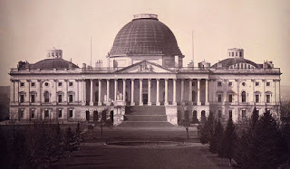 US Capitol in 1846 by John Plumbe