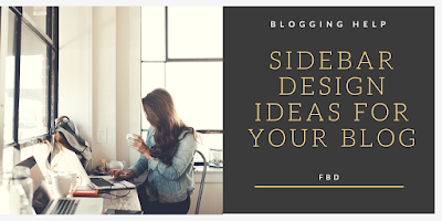 design ideas for your blog Sidebar