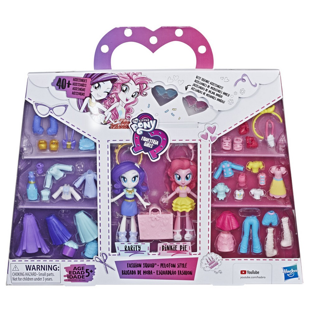 Equestria Friends Fashion Squad Figures Found At Toys R Us Singapore Mlp Merch