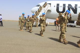 800 Pasukan Pemeliharaan Perdamaian Tiba di Sudan