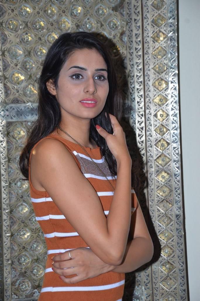 Nikitha At Khwaaish Exhibition Curtain Raiser Event Stills