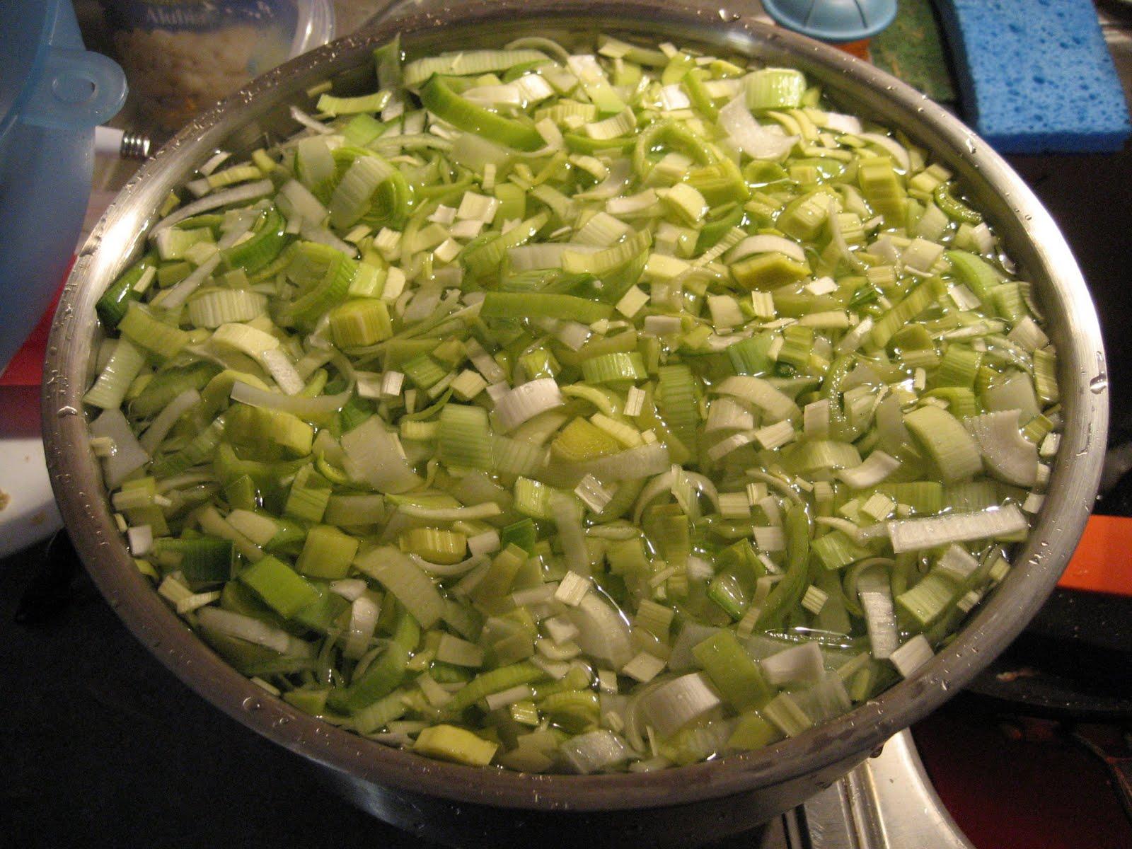 Passover Recap And Potato Leek Kugel