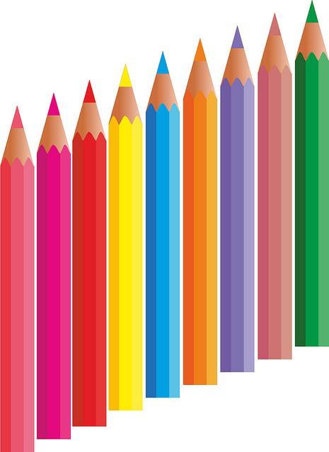 Dibujos de lapices de colores imagenes y dibujos para - Dibujos en colores para imprimir ...
