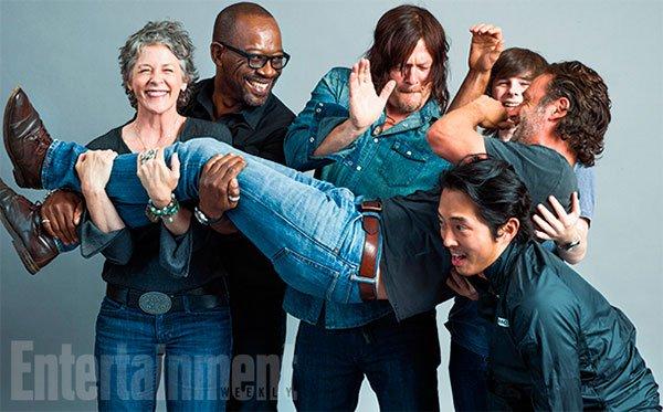Supervivientes originales de 'The Walking Dead'
