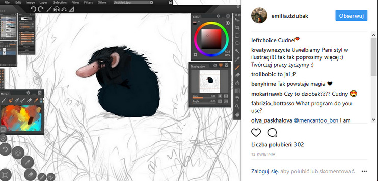 https://www.instagram.com/emilia.dziubak/