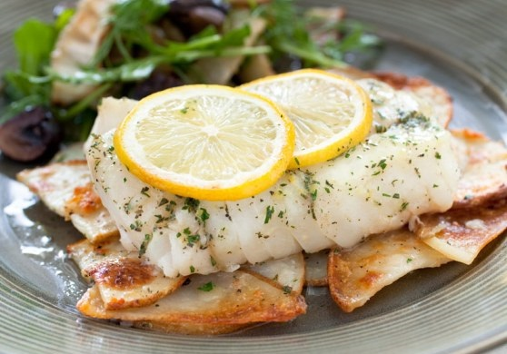 How to Make Lemon Herb Cod Fillets with Crispy Potatoes Recipe