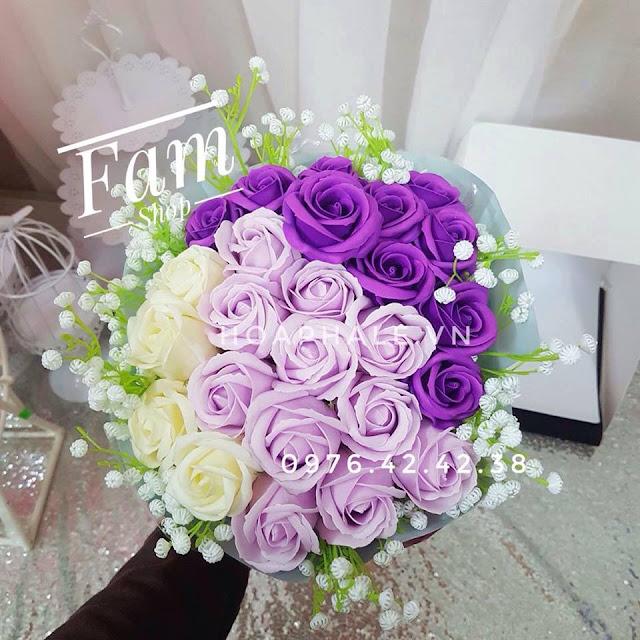 Hoa hong sap thom vinh cuu tai Thanh Xuan