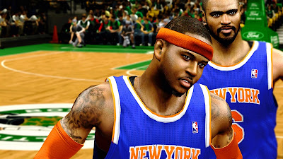 NBA 2K13 Carmelo Anthony Face NBA2K Patch