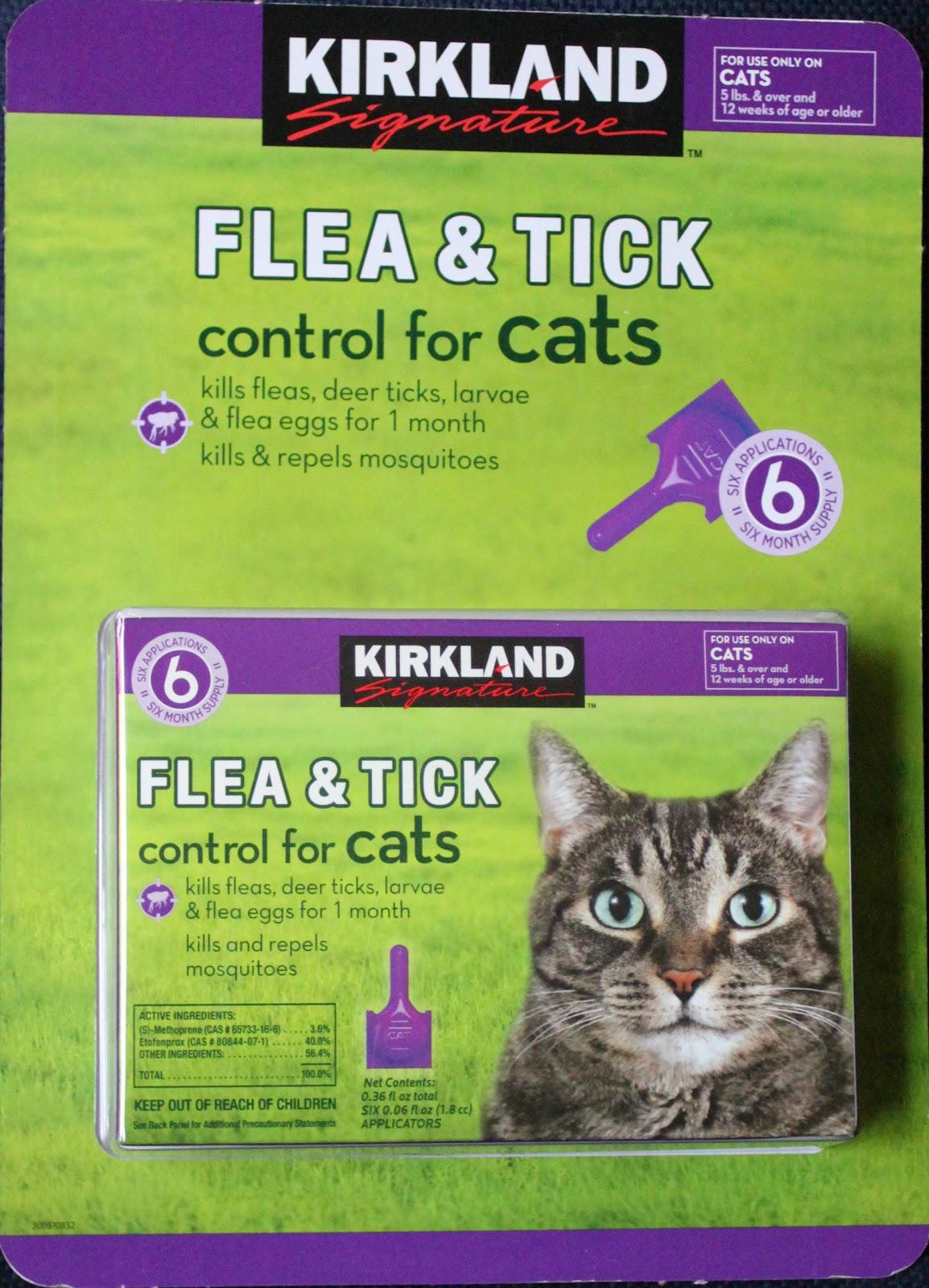 Flea Control Cat Food
