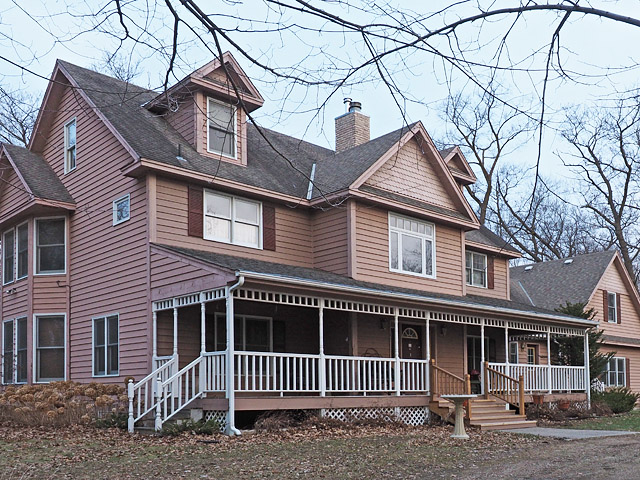 house porch railing repair rot fix