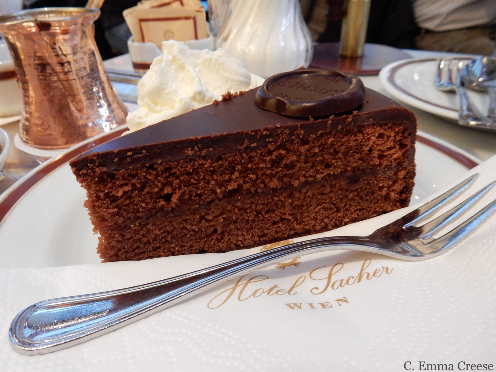 Cafe Sacher Vienna Adventures of a London Kiwi
