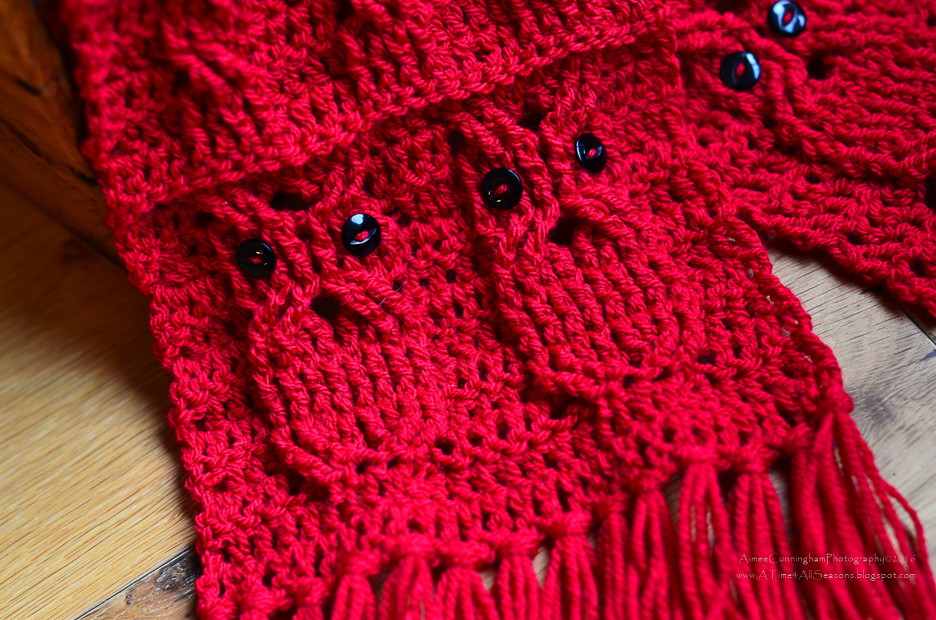 A Time For All Seasons Free Crochet Owl Cabled Scarf