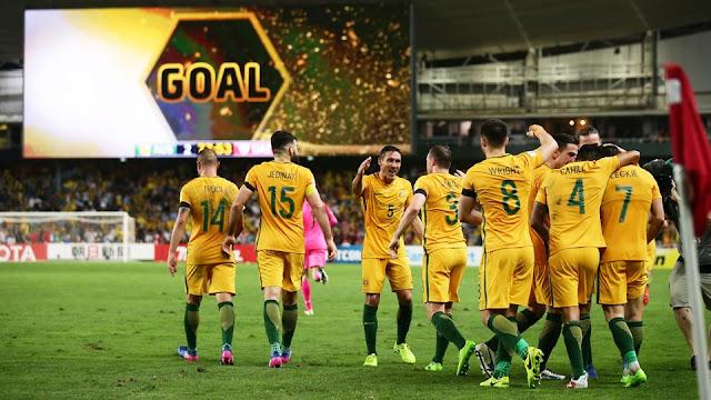 Australia 2-0 Emiratos Árabes Unidos eliminatorias Asia Rusia 2018