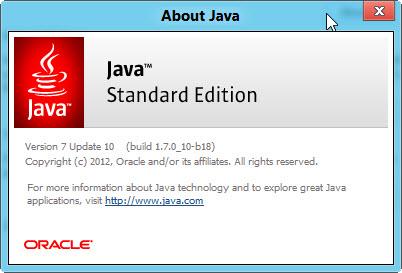 Free Software Download: Java for Windows Version 7 Update ...
