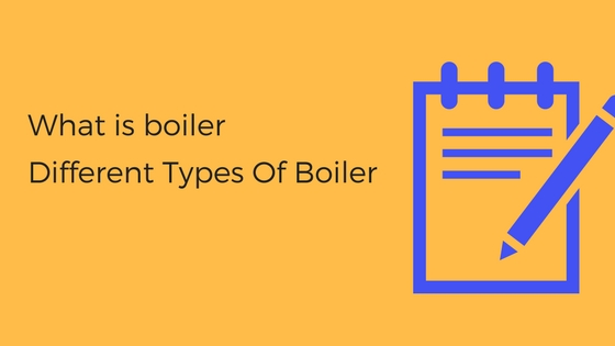 What is boiler Different Types Of Boiler