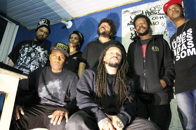 """O Coletivo A.R.P (Advertência Rap Pesado) lança single """"Advertência"""""""