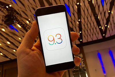 apple phat hanh ban va loi cho ios 9.3