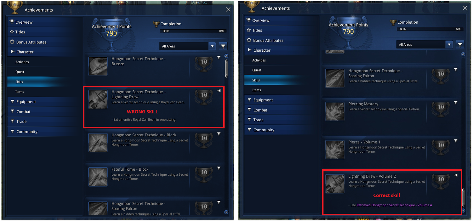 Blade and Soul Beginner Guide: Awaken/Hongmoon Skills