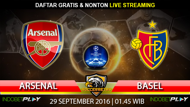 Prediksi  Arsenal vs Basel 29 September 2016 (Liga Champions)