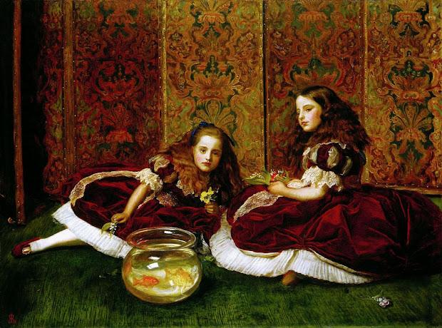 John Everett Millais Leisure Hours
