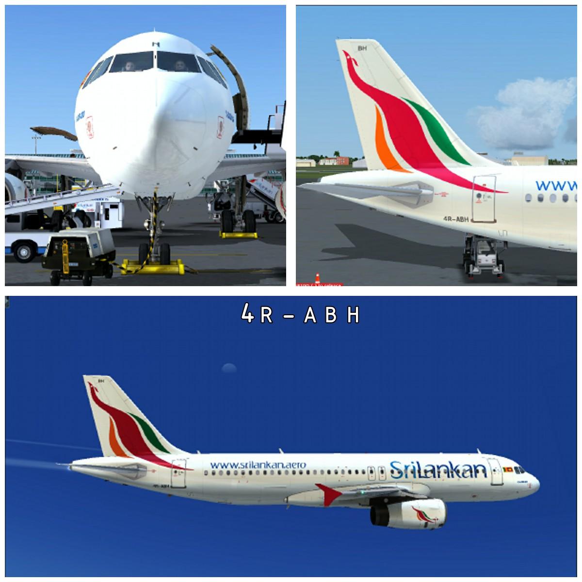 We Love airplanes Srilanka: Airline Repaints