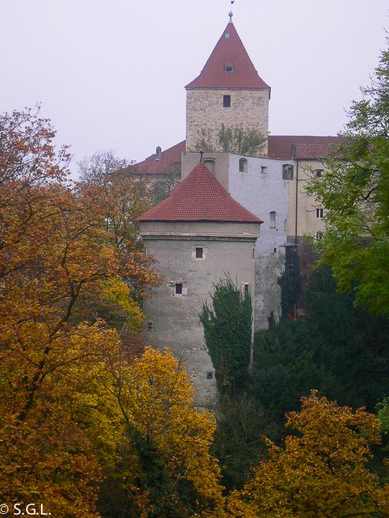 Torre Daliborka en el castillo de Praga