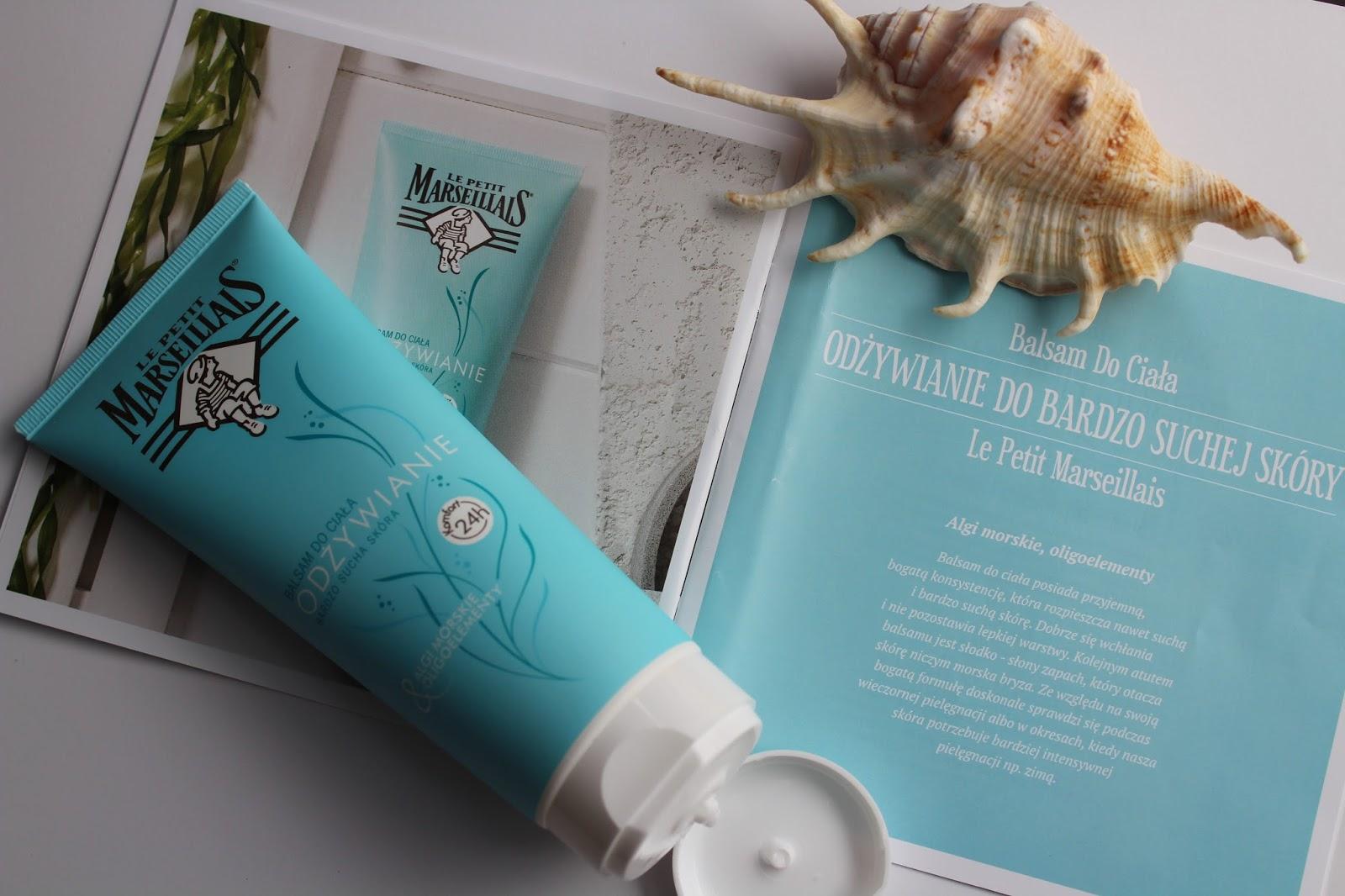 Le Petit Marseillais / Morska pielęgnacja/ Balsam do ciała /  Odżywianie